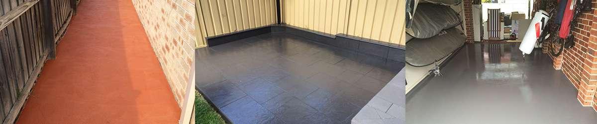 Concrete Colour Sealing Sydney