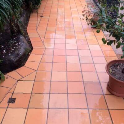 Terracotta tile cleaning sydney
