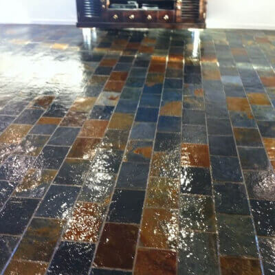 Slate cleaning and sealing Sydney